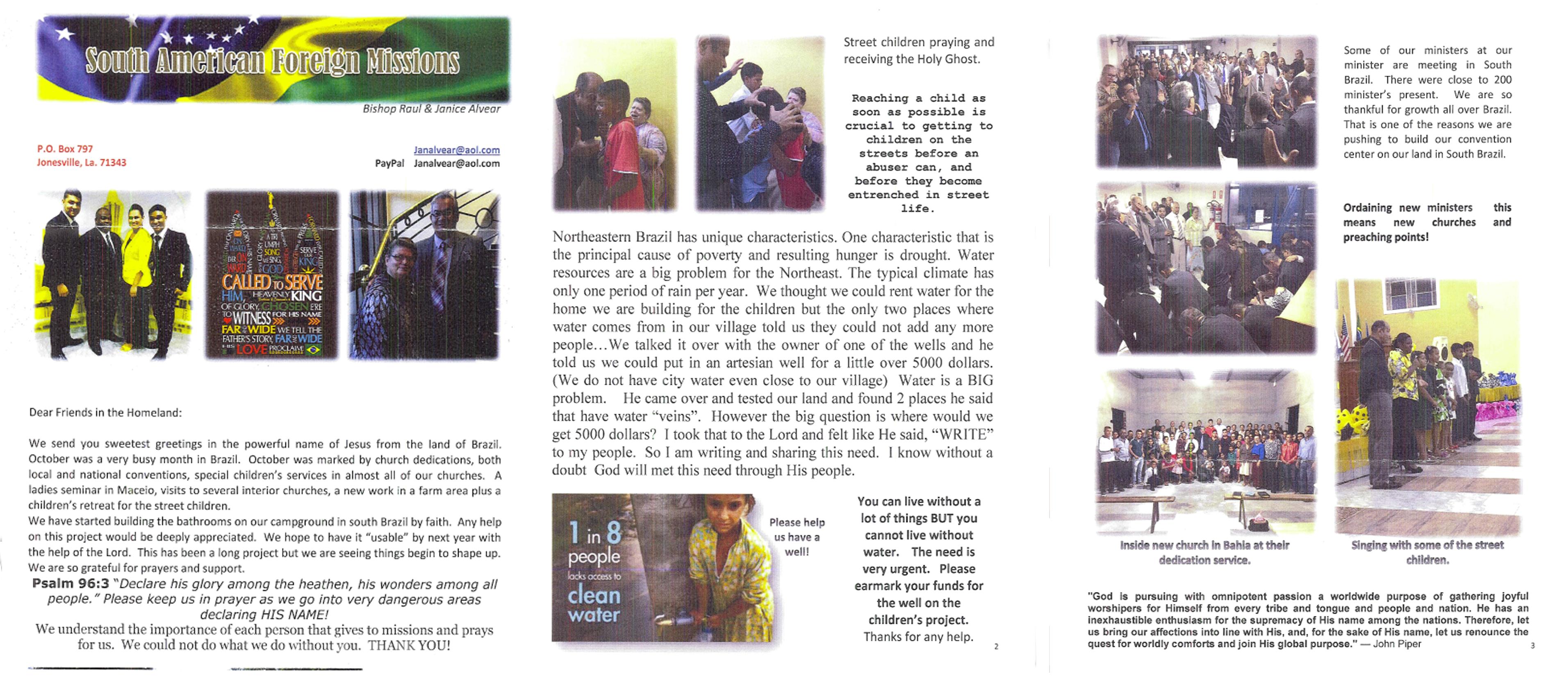 Brazil – Missionary Raul Alvear Sr. (part 1)