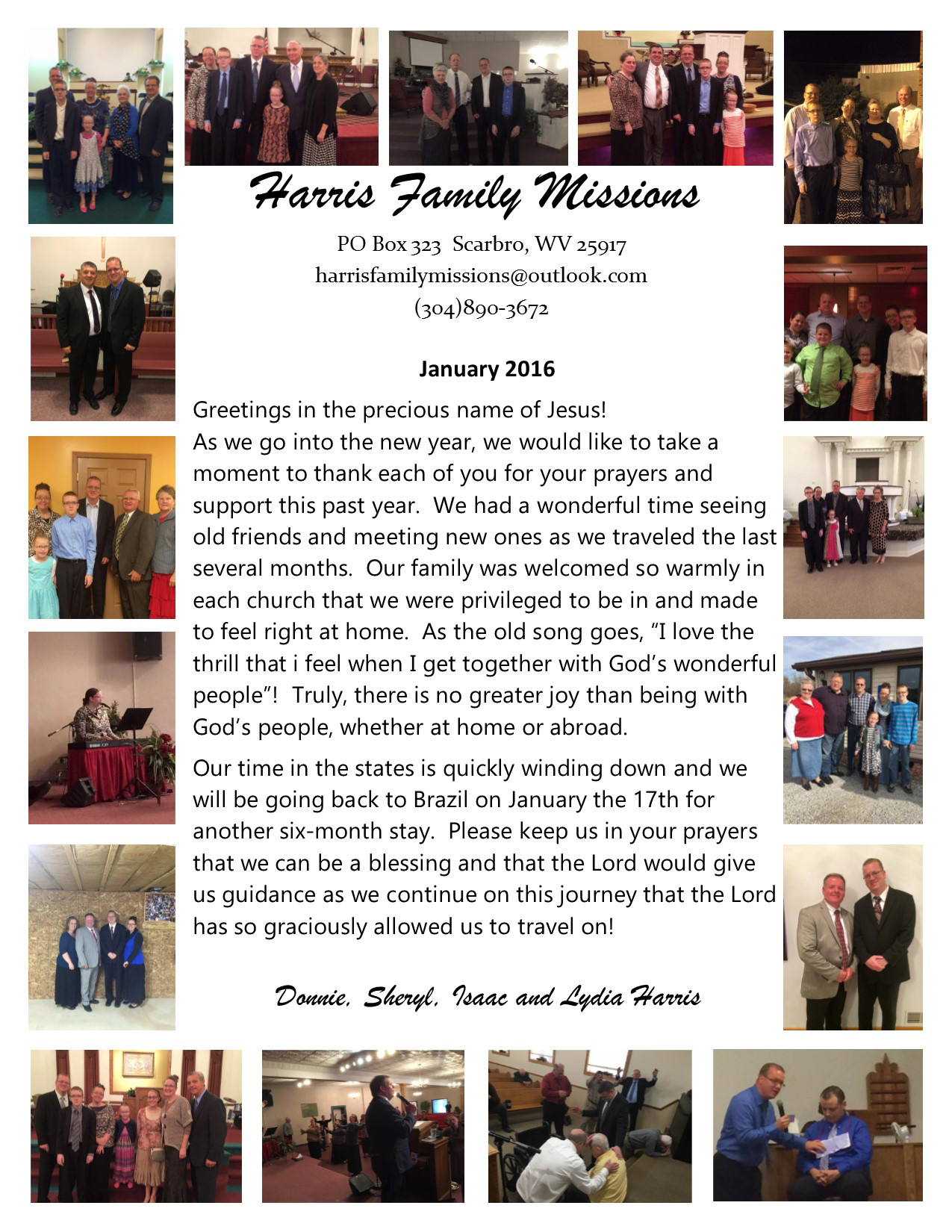 Brazil – Missionary Donnie Harris