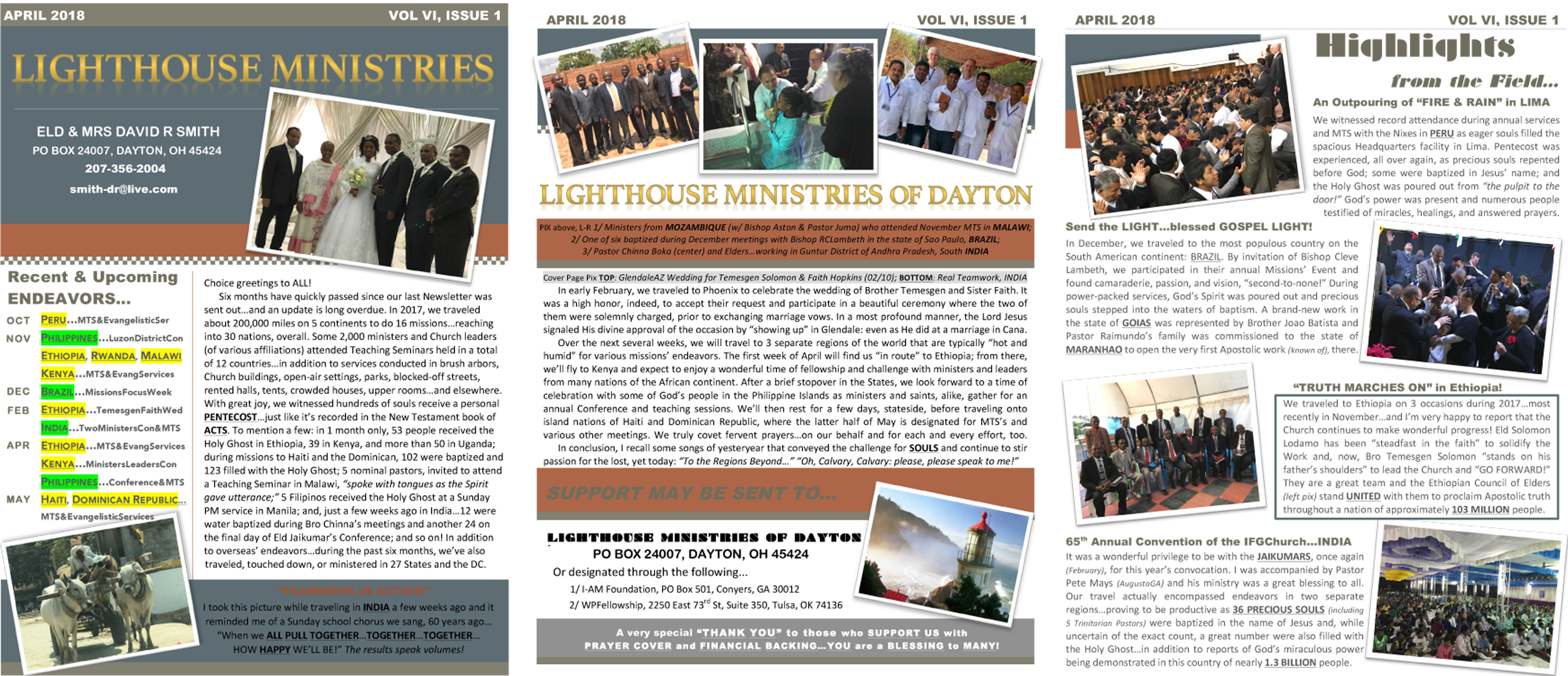 Lighthouse Ministries – Missionary David Smith