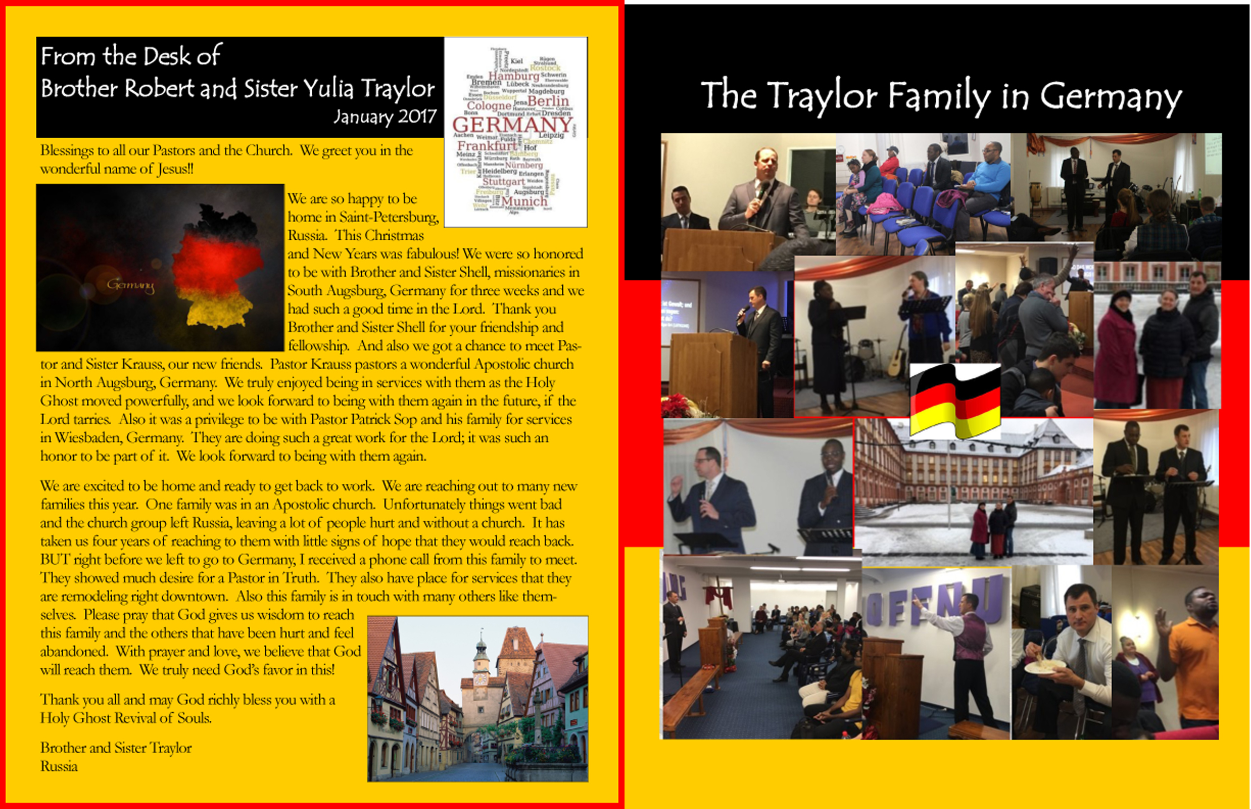 Russia – Missionary Robert Traylor